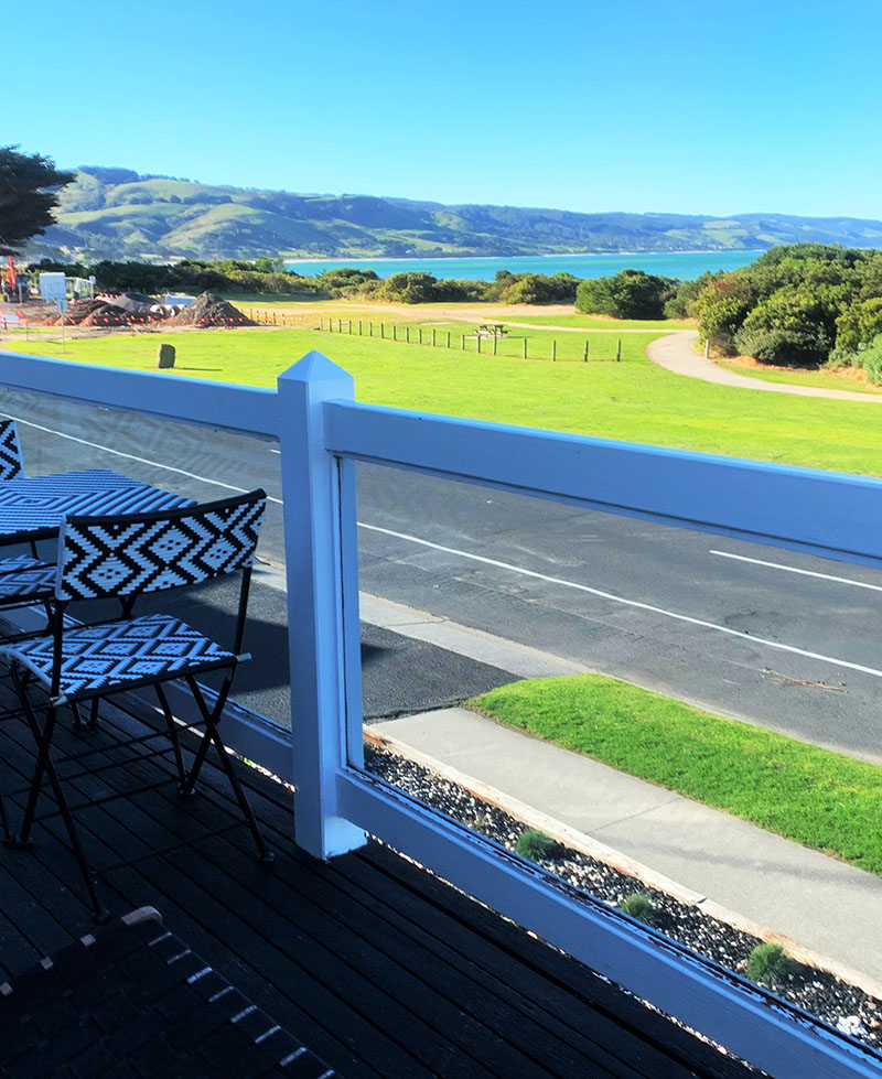 Coastal Motel - Three Bedroom House - Balcony view